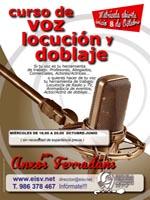 Curso de Voz, Locución y Doblaje 2014-2015.