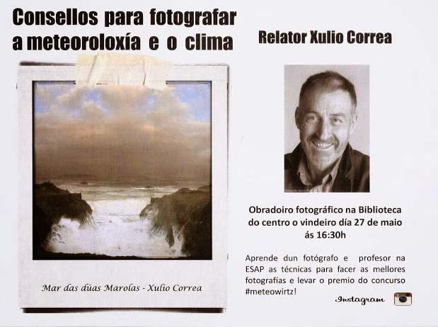 Xullo Correa y fotografía meteorológica